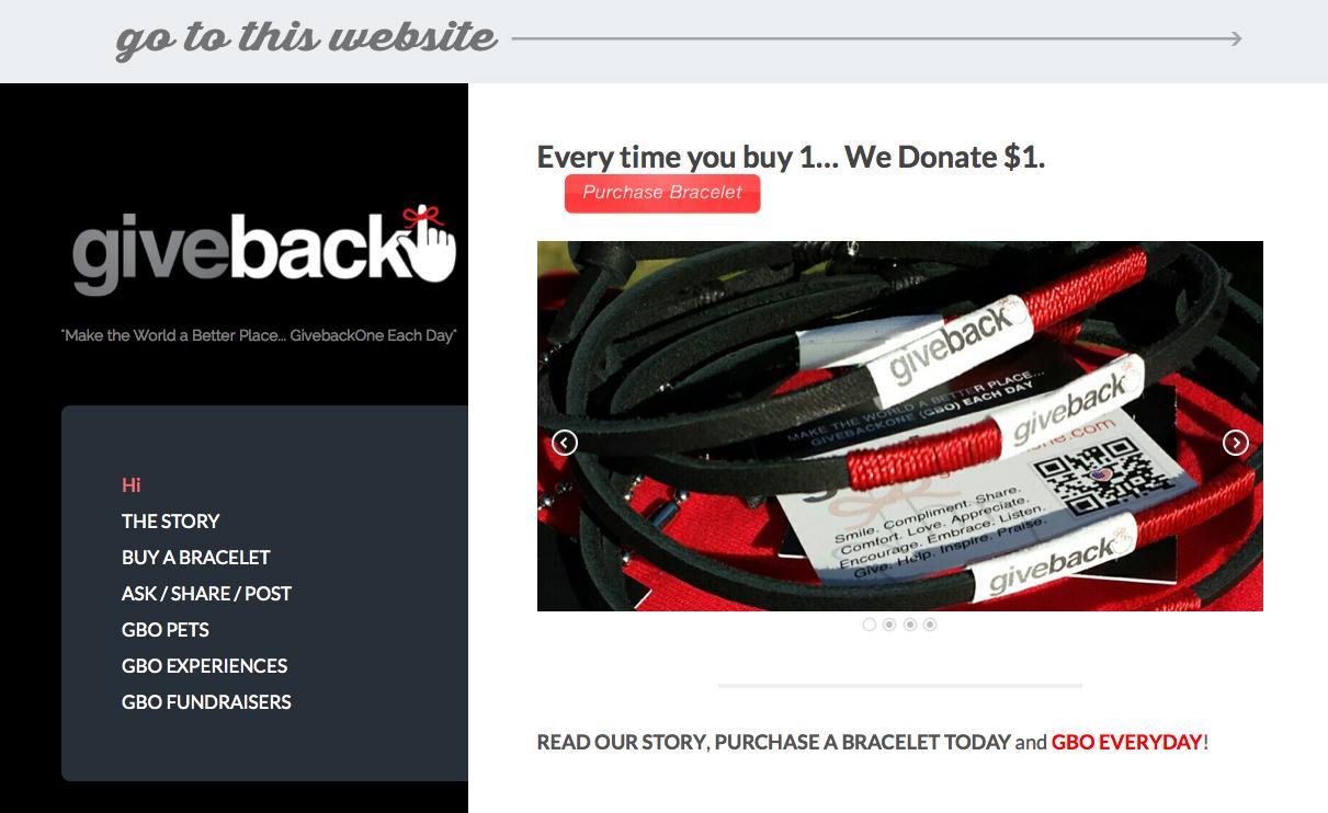 web-portfolio-GiveBackOne