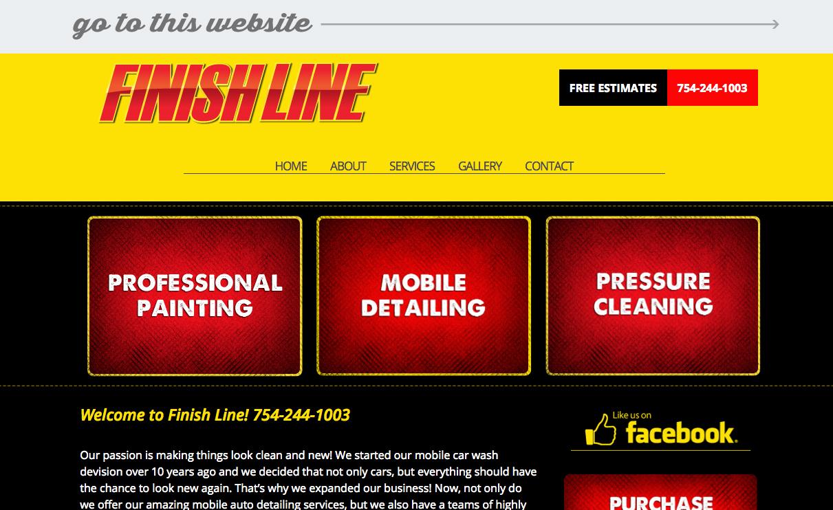 web-portfolio-fiinishline