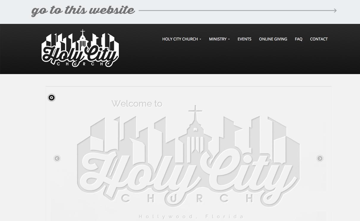 web-portfolio-holycitychurch