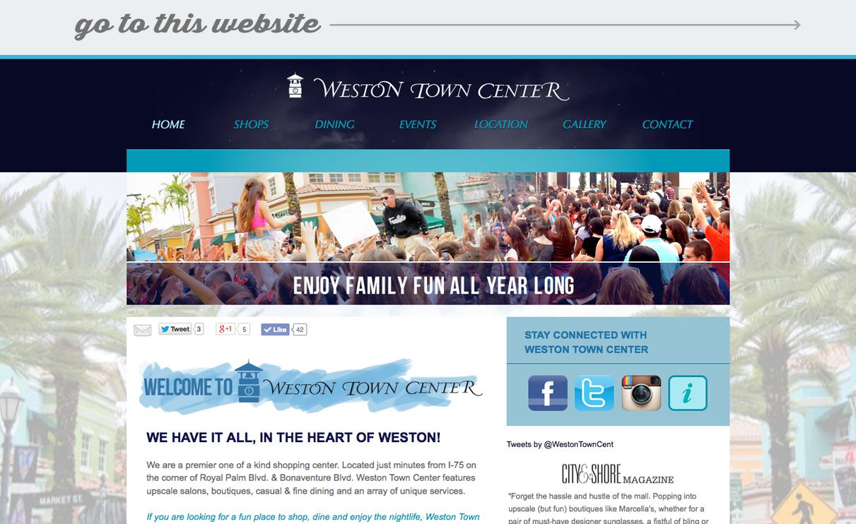 web-portfolio-westontowncenter